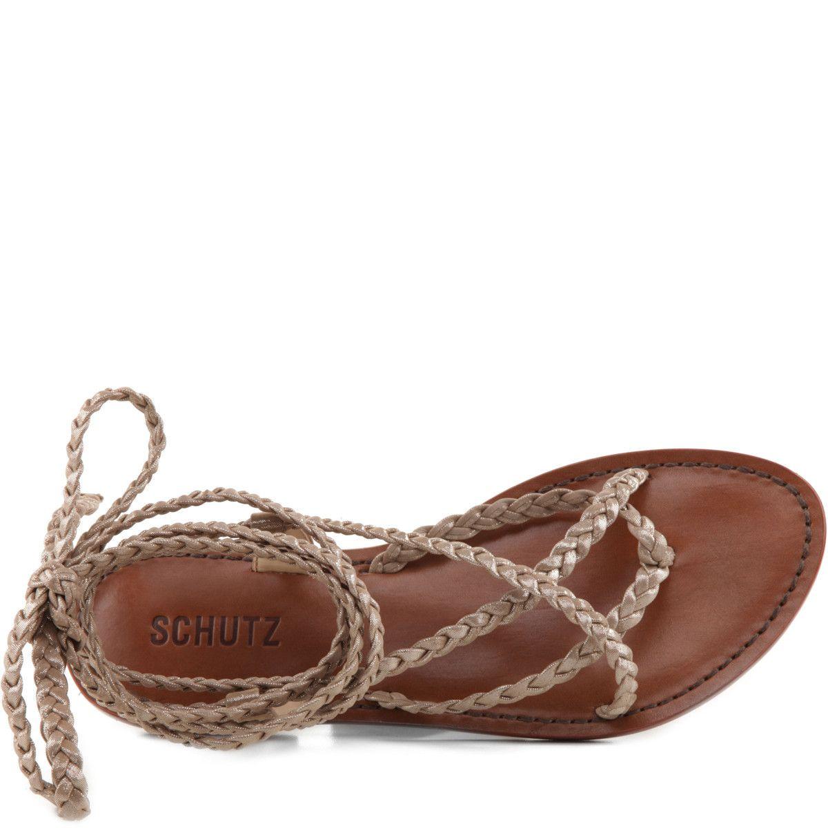#KONGA #SchutzShoes #flats #sandals #gold #braided #shoes