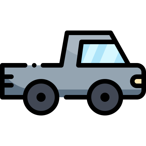 Pickup Truck Free Vector Icons Designed By Vitaly Gorbachev Vector Icon Design Vector Free Icon Design