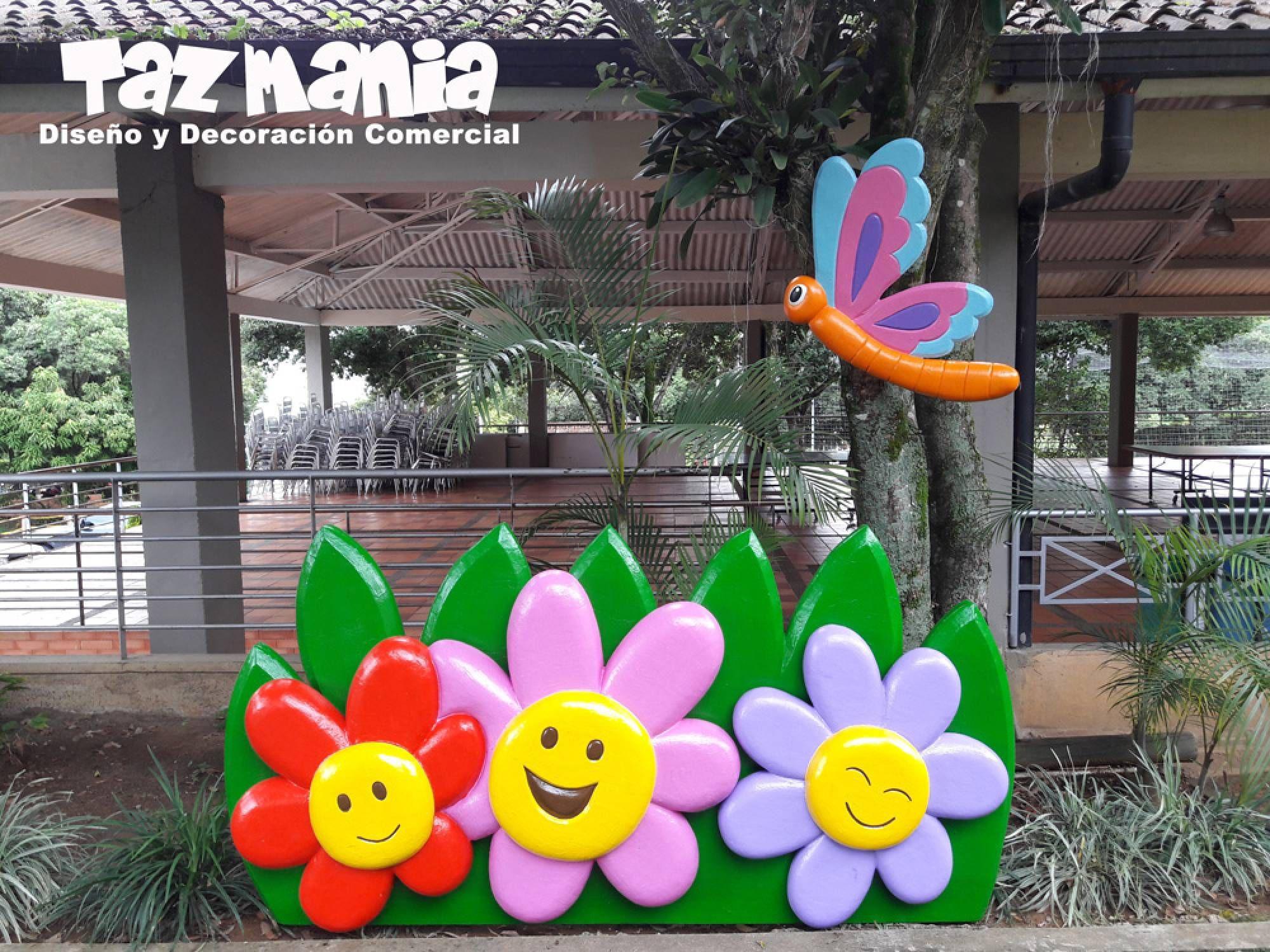 Tazmania dise o y decoraci n comercial fabricando ideas - Decoracion del jardin ...