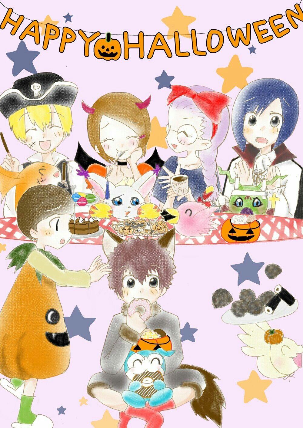 Digimon Zero Two , Halloween
