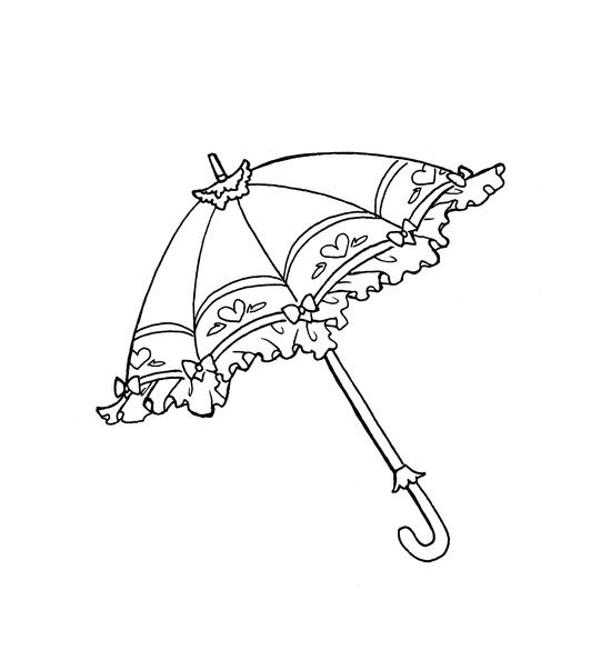 Parasol  Parasol Parlor    Embroidery Magnolia And Stamps