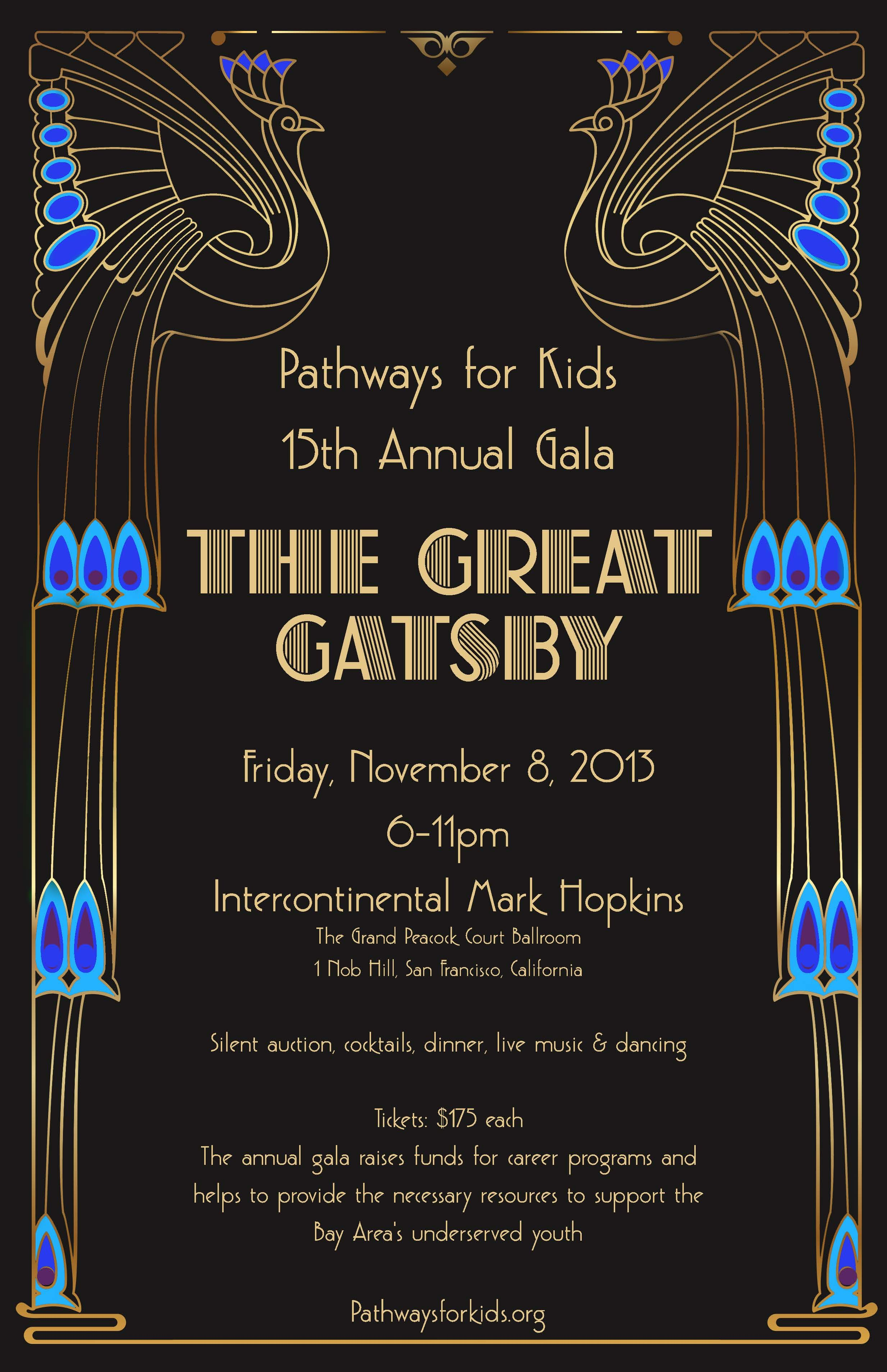 pathways for kids 15th annual gala quotthe great gatsby