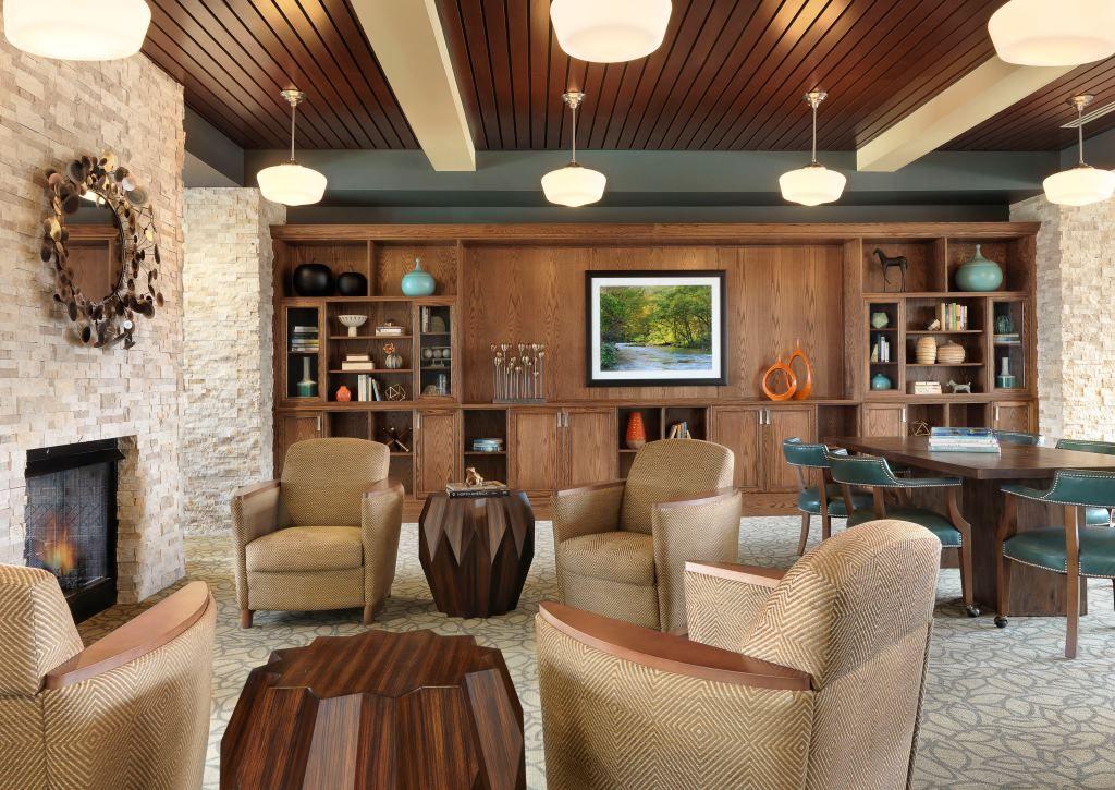 Friendship Village Of Sunset Hills Senior Living Interior Design Senior Living Design Interior Design