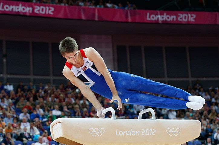 GBs Mens Pommel Horse bronze medalist Max Whitlock and
