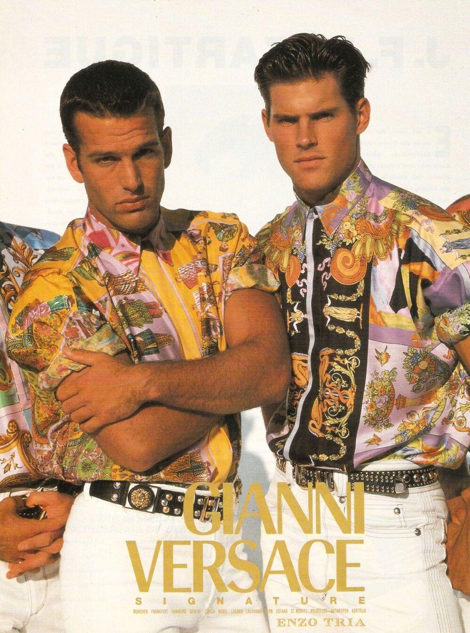 09d30cf2bc923 Versace Pattern, Versace Men, Versace Fashion, Gianni Versace, Versace  Brand, 80s
