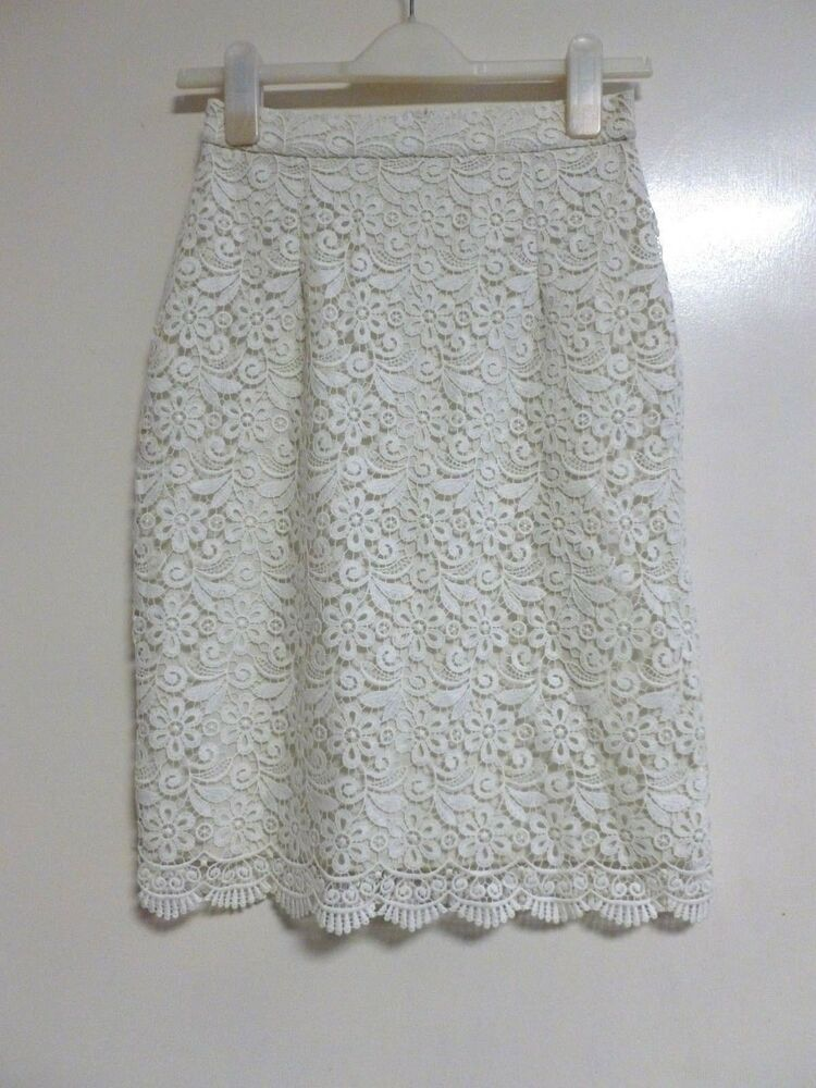 cf2898bdc9 Uniqlo woman lace skirt off white SIZE XS RRP 24.90 BRAND NEW CR181 EE 02  #fashion #clothing #shoes #accessories #womensclothing #skirts (ebay link)
