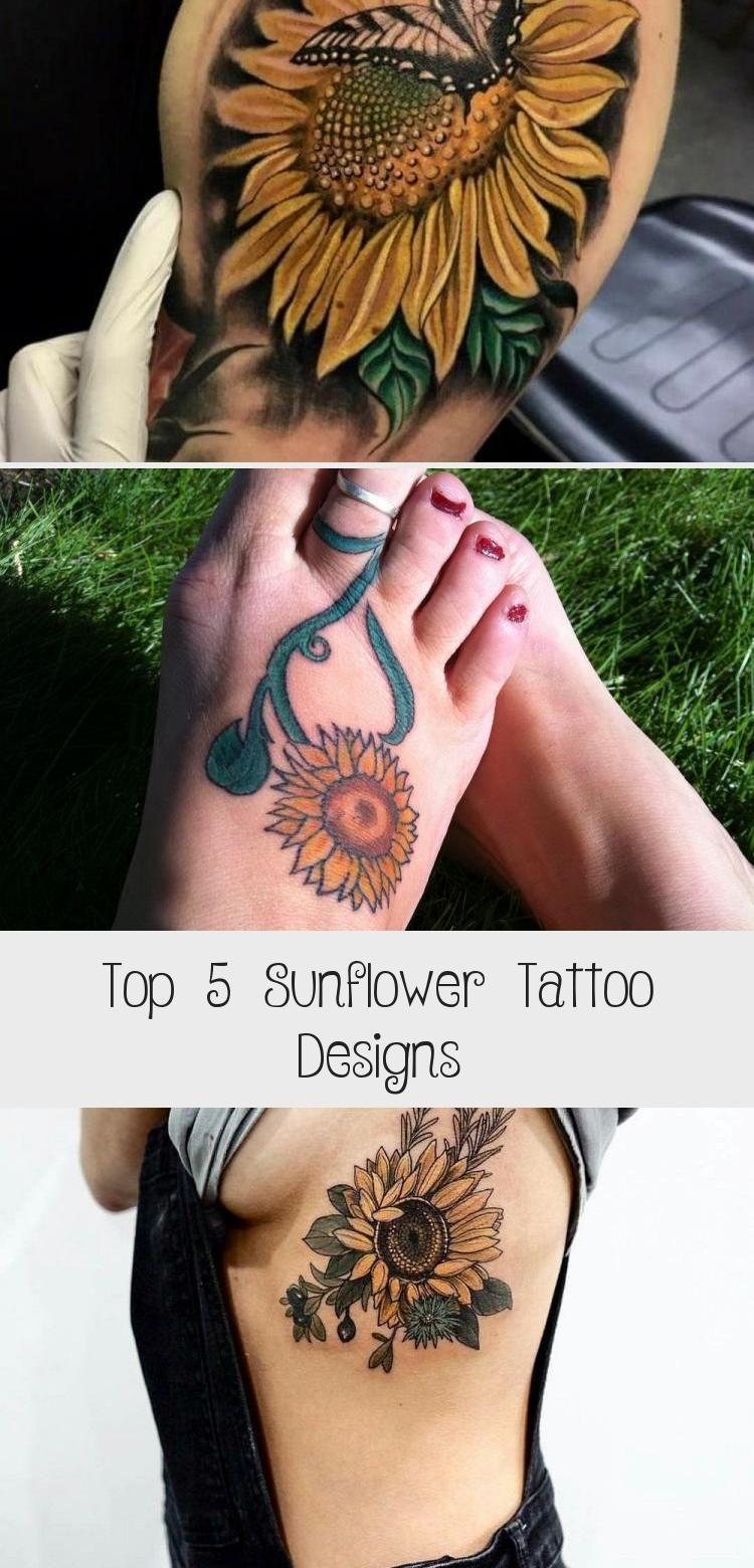 Photo of Top 5 Sunflower Tattoo Designs – TATTOO