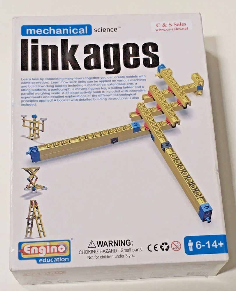 Science Facts Christmas: Mechanical Science Kit Linkages Education Engino Build 6