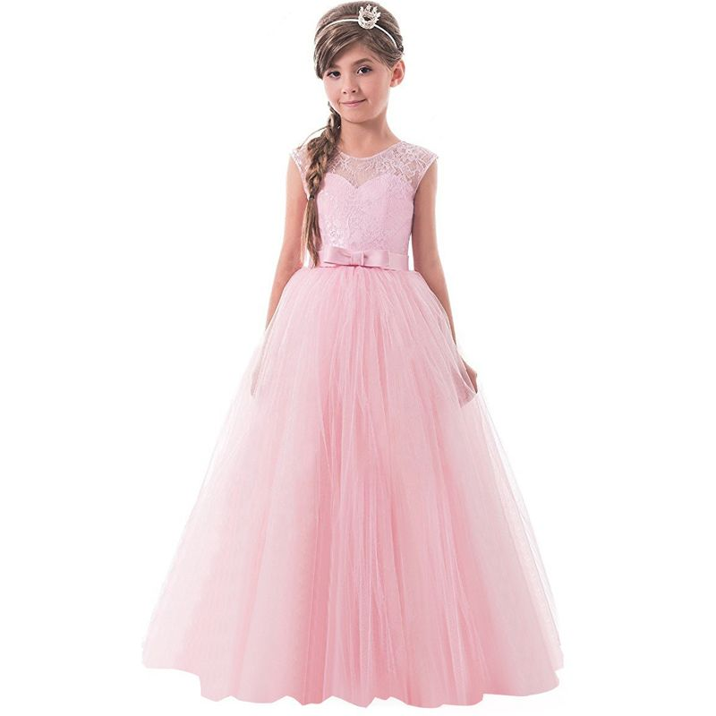 Girls Party Dress Brand Summer Dress Girl Wedding Gown Teen Girl ...