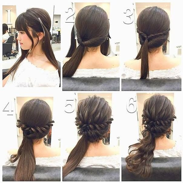 Fashionable Braid Hairstyle for Shoulder Length Hair   Shoulder ...