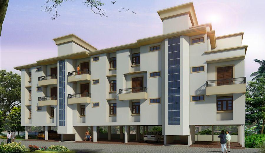 Apartment Structures Kerala Building Construction 1 Bedroom Studio Apartments