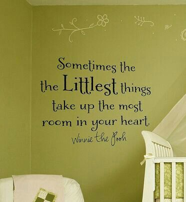 Wall Decal Nursery Quotes Baby Ideas
