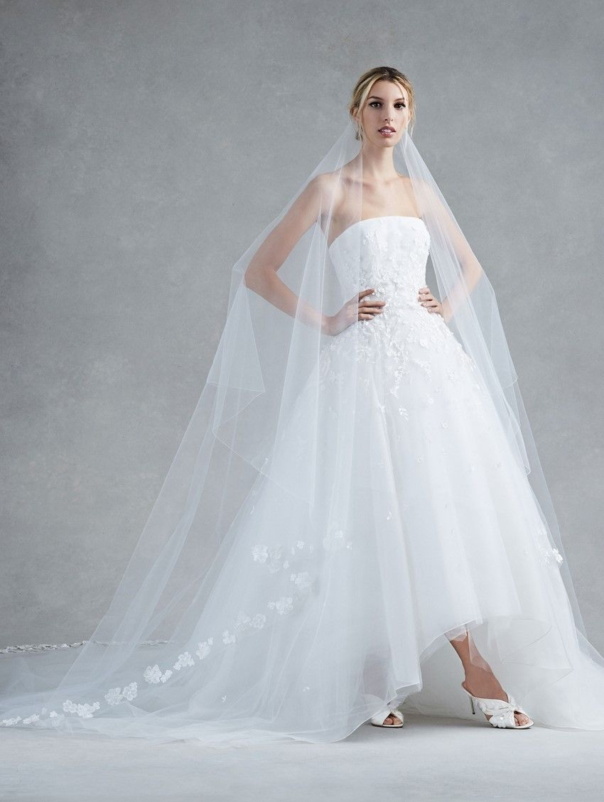 Cheap high low wedding dresses  Top  Bridal Trends for   Wedding dress Weddings and Chic