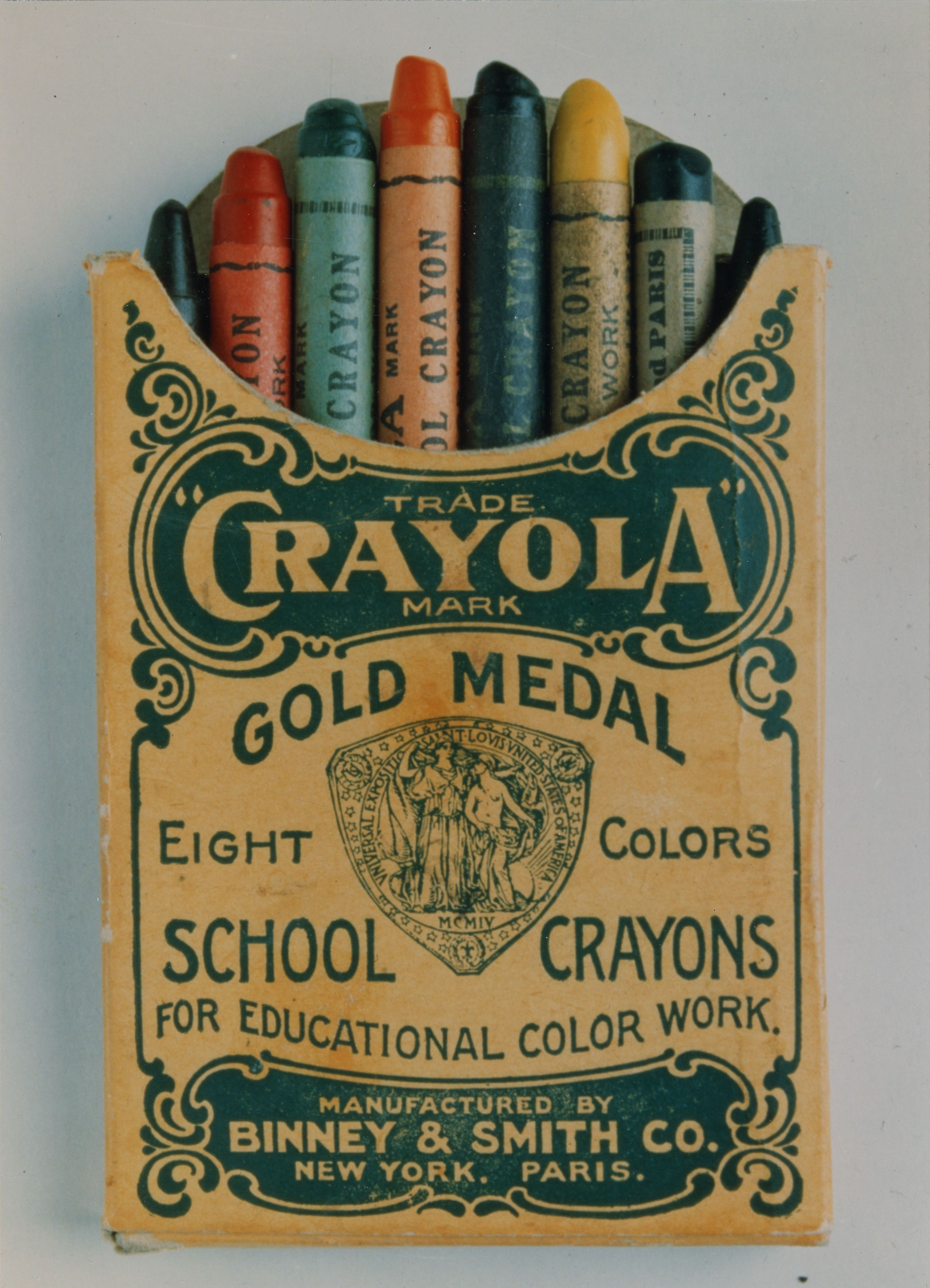 Binney Amp Smith Sold The First Crayons In 1903 Old