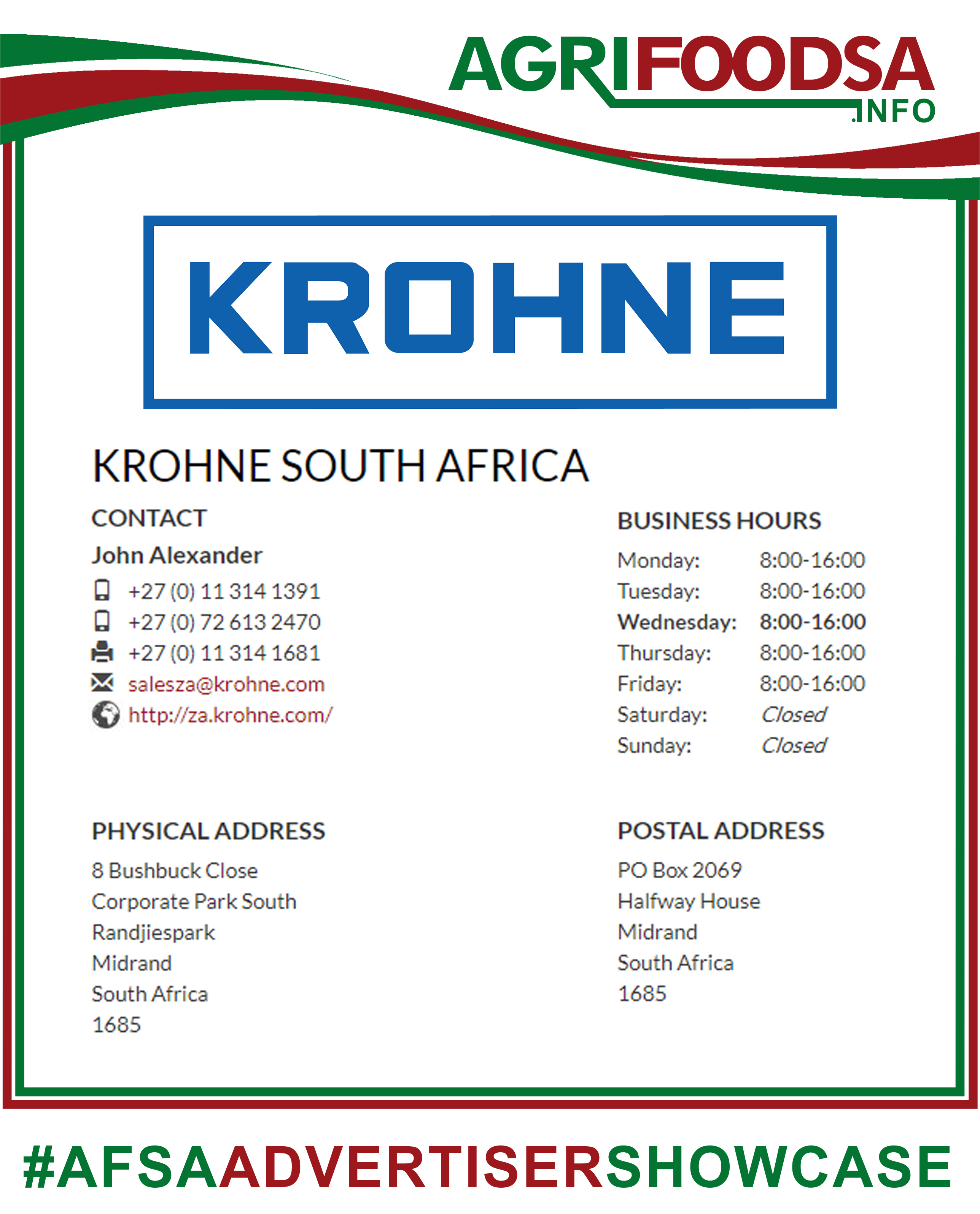 Pin by AGRIFOODSA INFO on Agricultural Products | South Africa