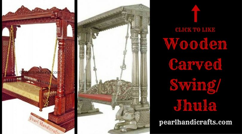 Indian Jhula Wooden Indian Jhula Swing For Indoor Amp Outdoor Wooden Swings Wooden Indoor Outdoor
