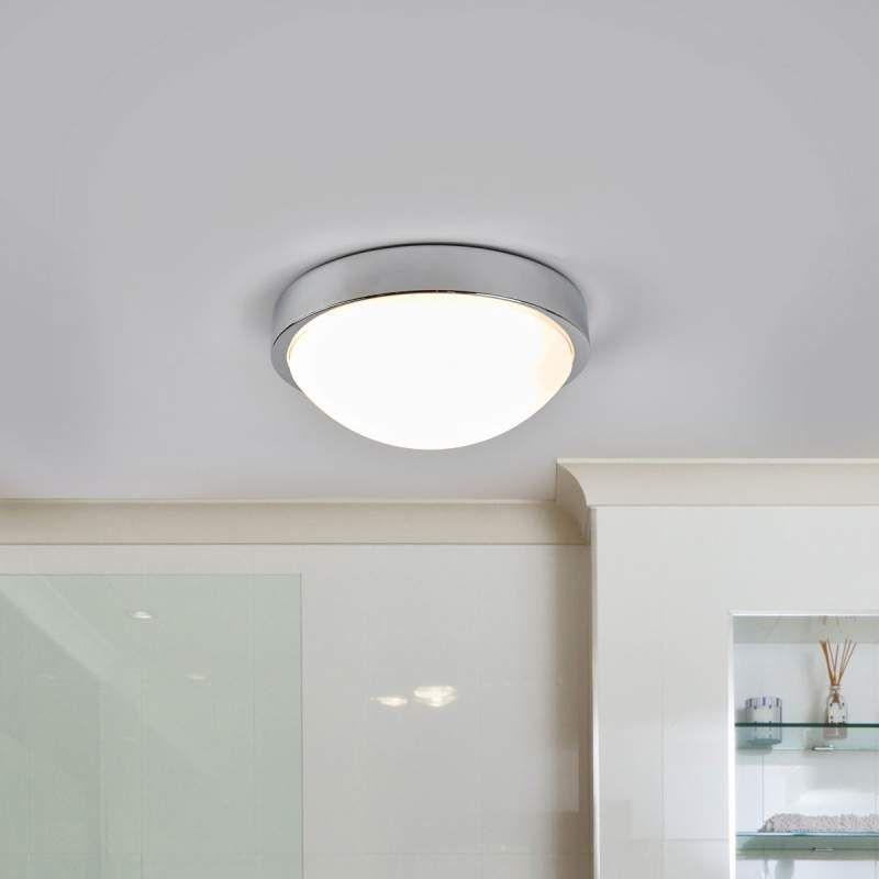 Verchromte Bad Deckenlampe Elucio Ip44 Von Lindby Deckenlampe