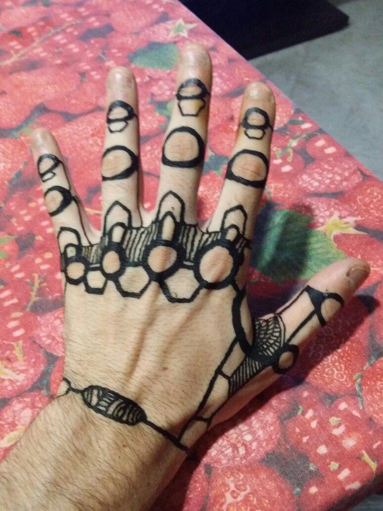 a2999eeae34e7 Black henna tattoo robot hand | Tattoo in 2019 | Body art tattoos ...