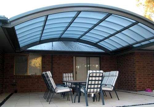 Resultado de imagen para techos de policarbonato unasur for Techos exteriores para casas
