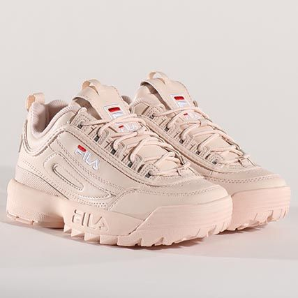 hot sale online 62f89 c80d8 Fila - Baskets Femme Disruptor Low 1010302 70P Peach Whip -  LaBoutiqueOfficielle.com  ✧ fila ✧ in 2019  Fila disruptors, Sneaker  boots, Adidas shoes