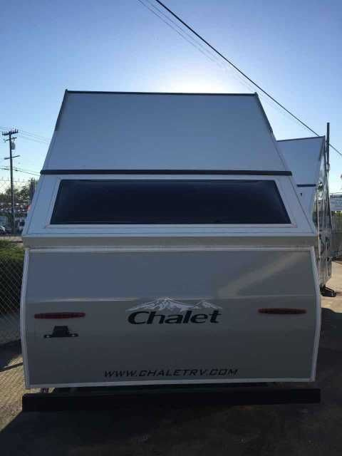 2016 New Chalet LTW Pop Up Camper in California CA.Recreational Vehicle, rv, 2016 Chalet LTW - great couples get a way!!!Sleeps 2 with stove top, sink, heater, rear skylight, outdoor speakers, fridge, stereo, vent and more.13 feet long and less than 1500 lbs - tow it with almost anything!