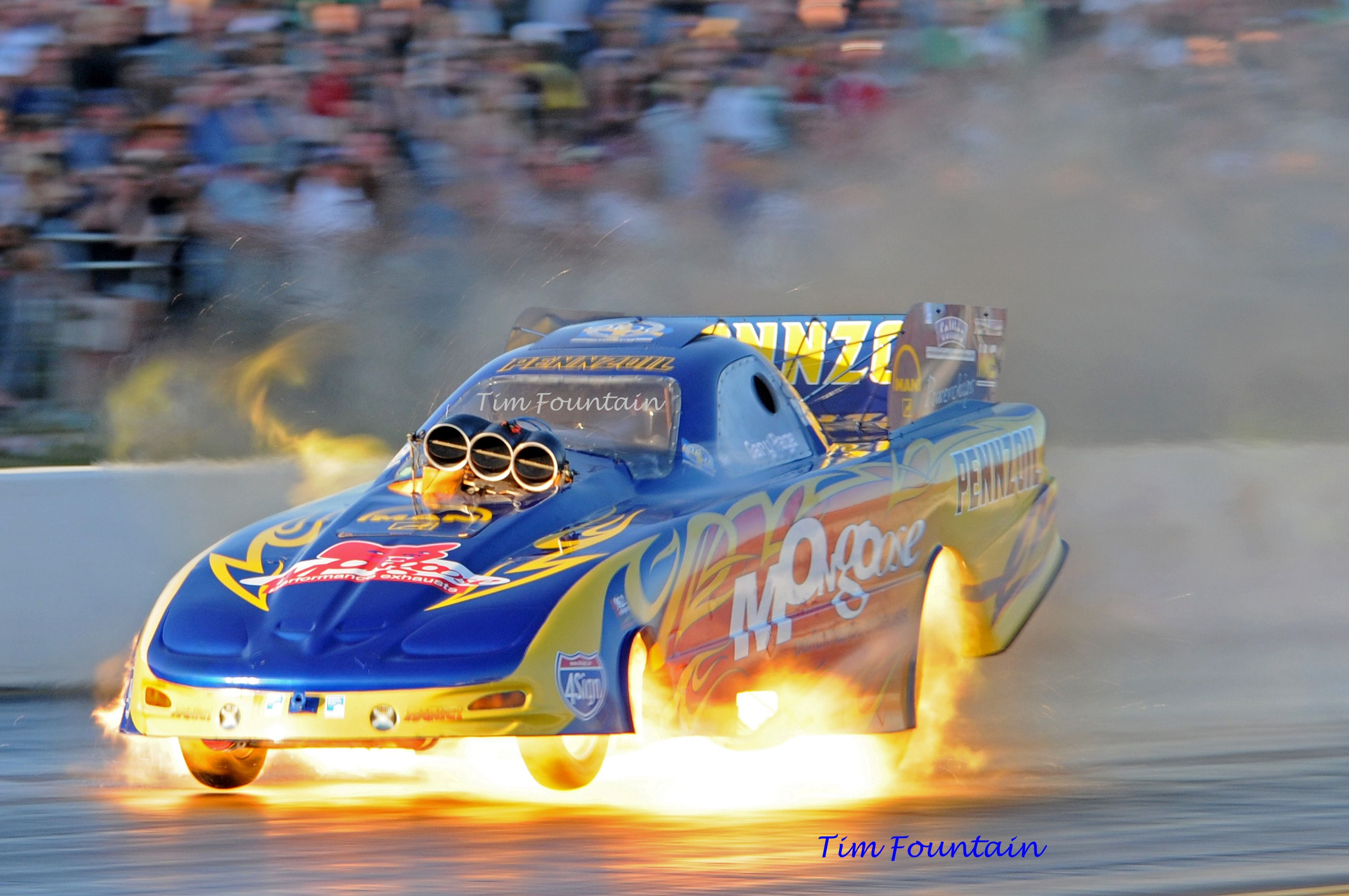 Gary Page Says Yes To Nitro Drag Racing Cars Funny Car Drag Racing Nhra Racing