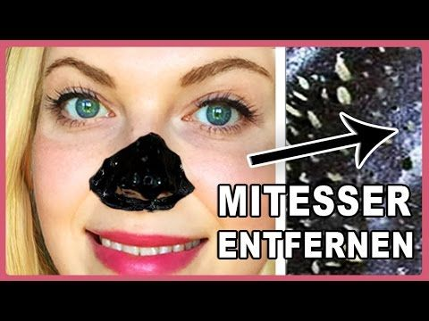 mitesser entfernen hausmittel diy anti blackhead peel off maske ich zeige euch eine einfache. Black Bedroom Furniture Sets. Home Design Ideas