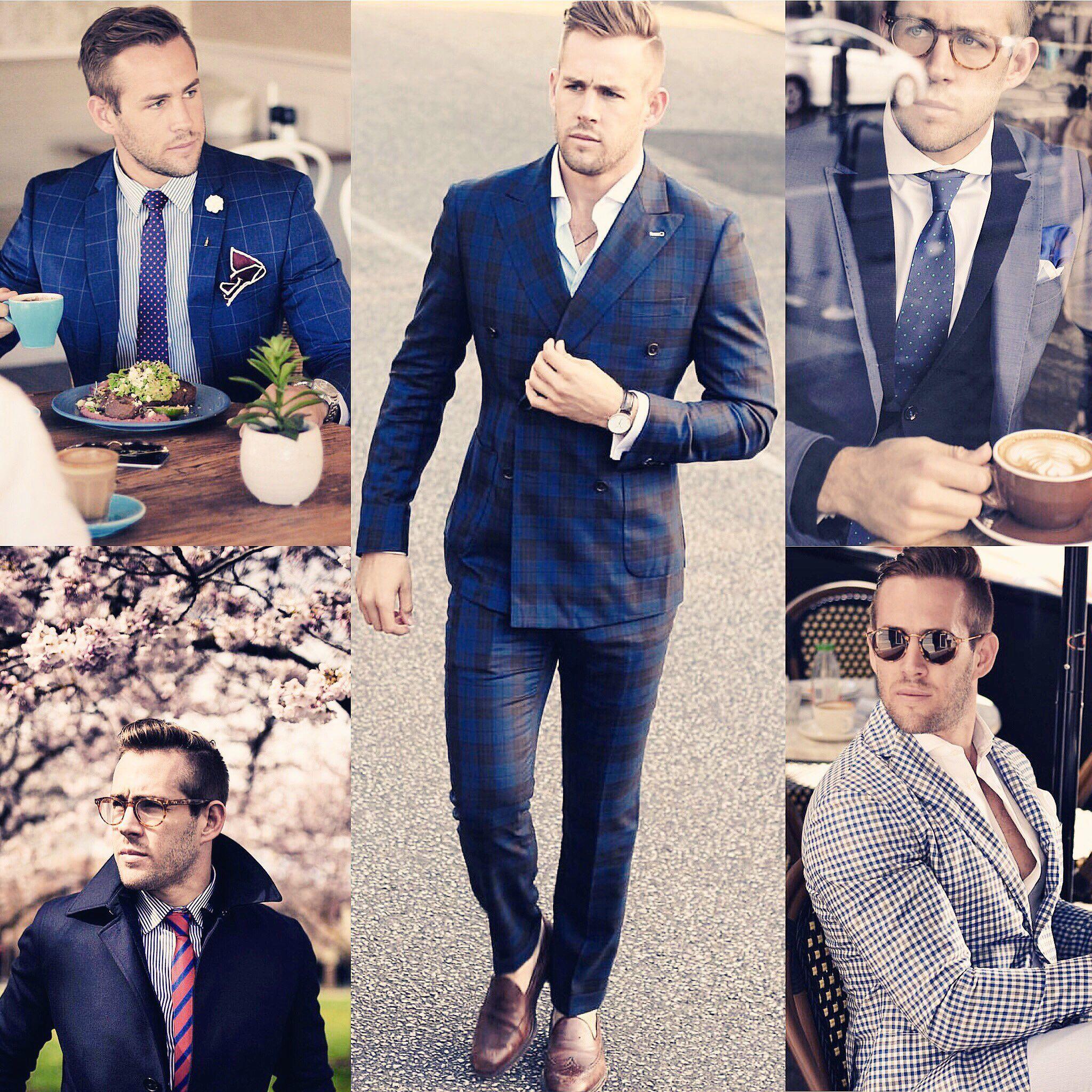 Shaun Birley, the gentleman of style inspiration #mensfashion #style #suitup #gentleman . Courtesy @shaunbirley