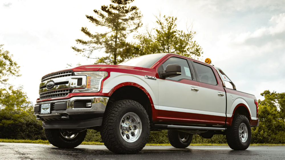 Ohio Dealership Creates Retro Style Ford F 150 Pickup Trucks In The Name Of Nostalgia The Drive Ford F150 Ford Trucks