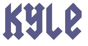 AC DC Font - AC DC Font Generator | K is for KYLE | Font