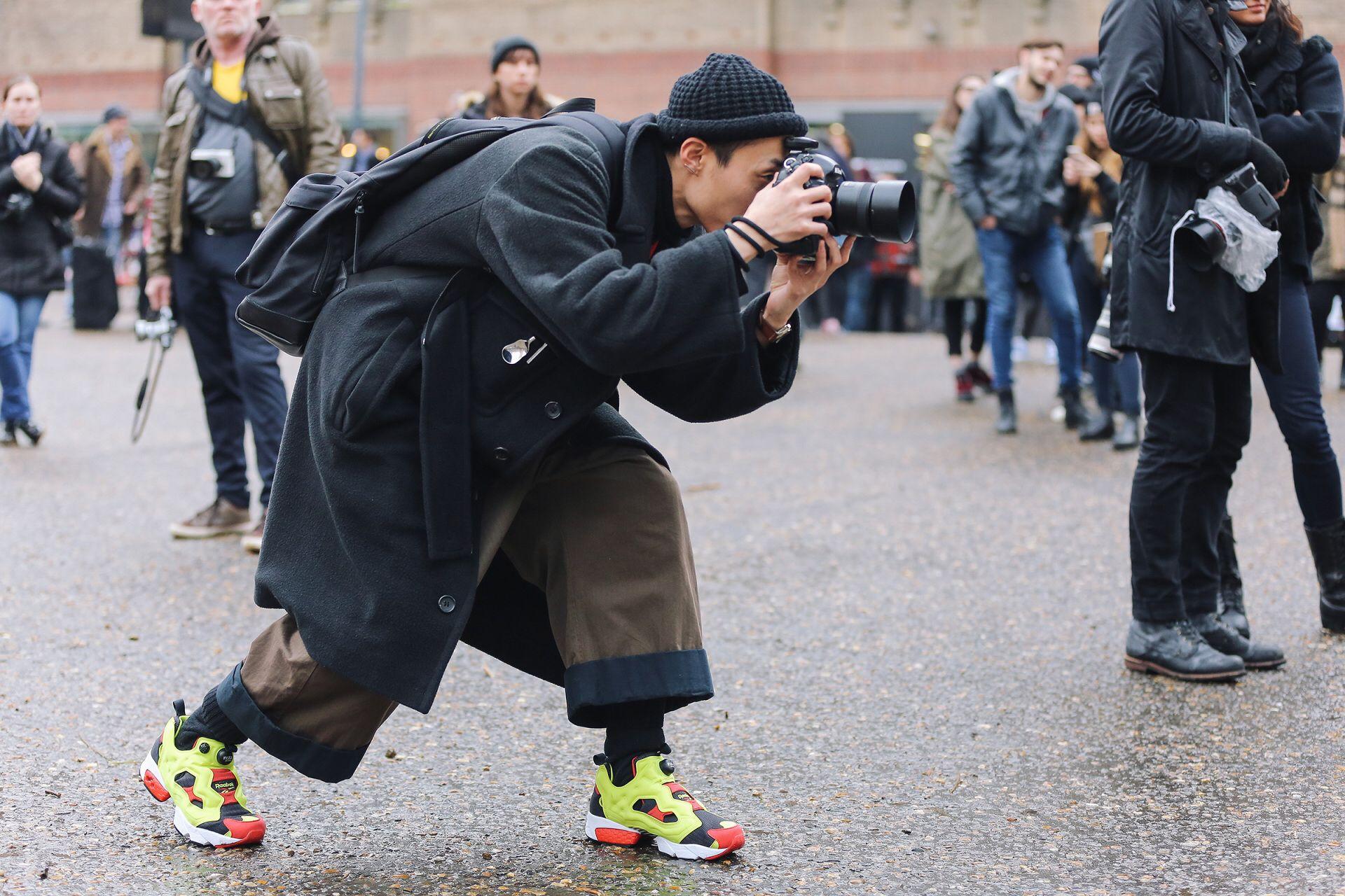 timeless design 4e1c3 ce198 Andrea Marigonda in the Reebok Insta Pump Fury OG   fashion   Reebok pump  fury, Reebok, Fashion