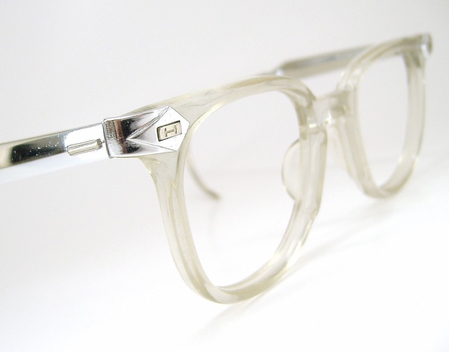 retro 50s vintage 50s mens horn rim glasses eyeglasses sunglasses clear frame