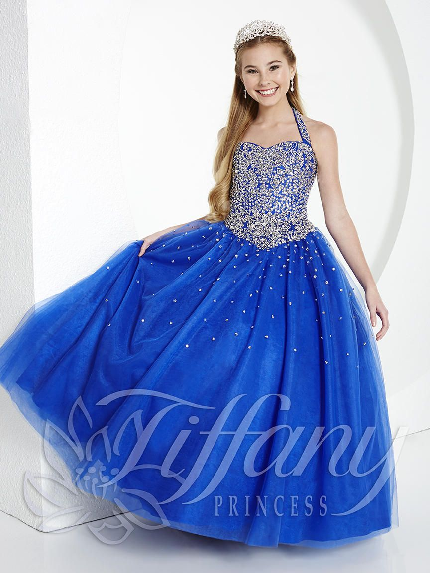 Tiffany Princess Pageant Dress Style 13434 Girls Pageant