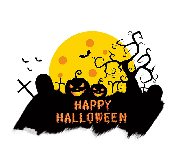 Happy Halloween Inscription Printables Png Image Editable Downloadable Upcrafts Design Halloween Typography Halloween Poster Halloween Clipart