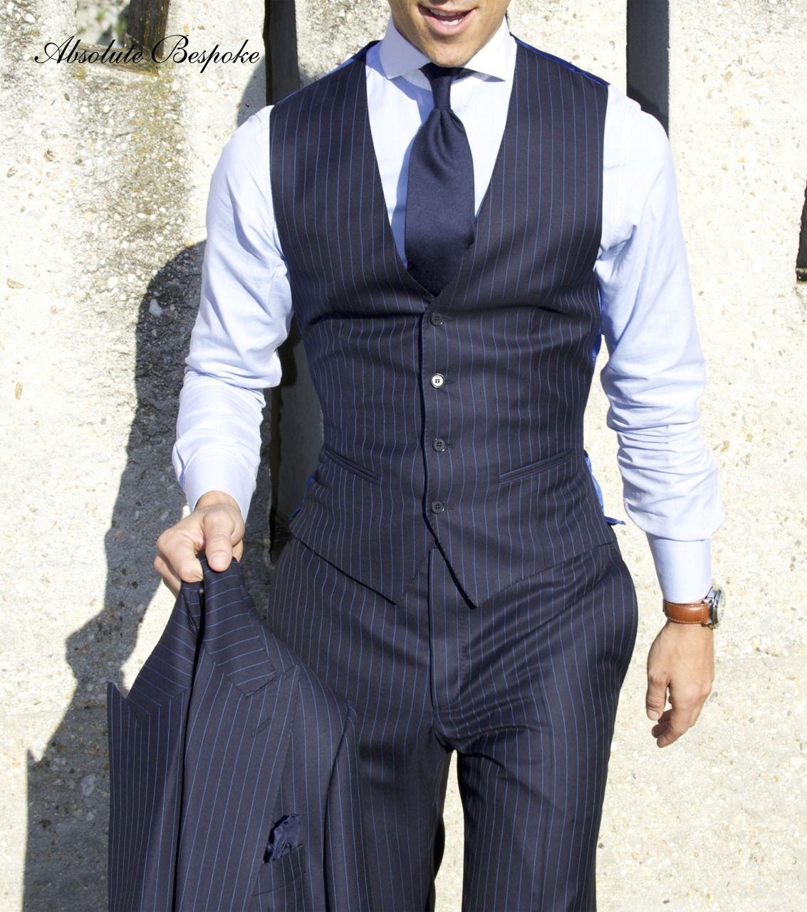 Absolute Bespoke Pinstripe Suit | Return of the Gentleman ...