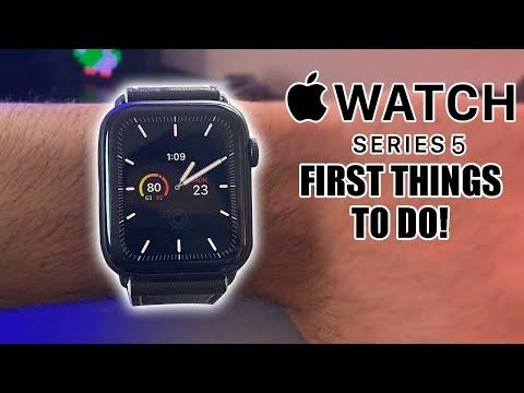 Apple Watch Series 5 First 10 Things To Do! (Extra