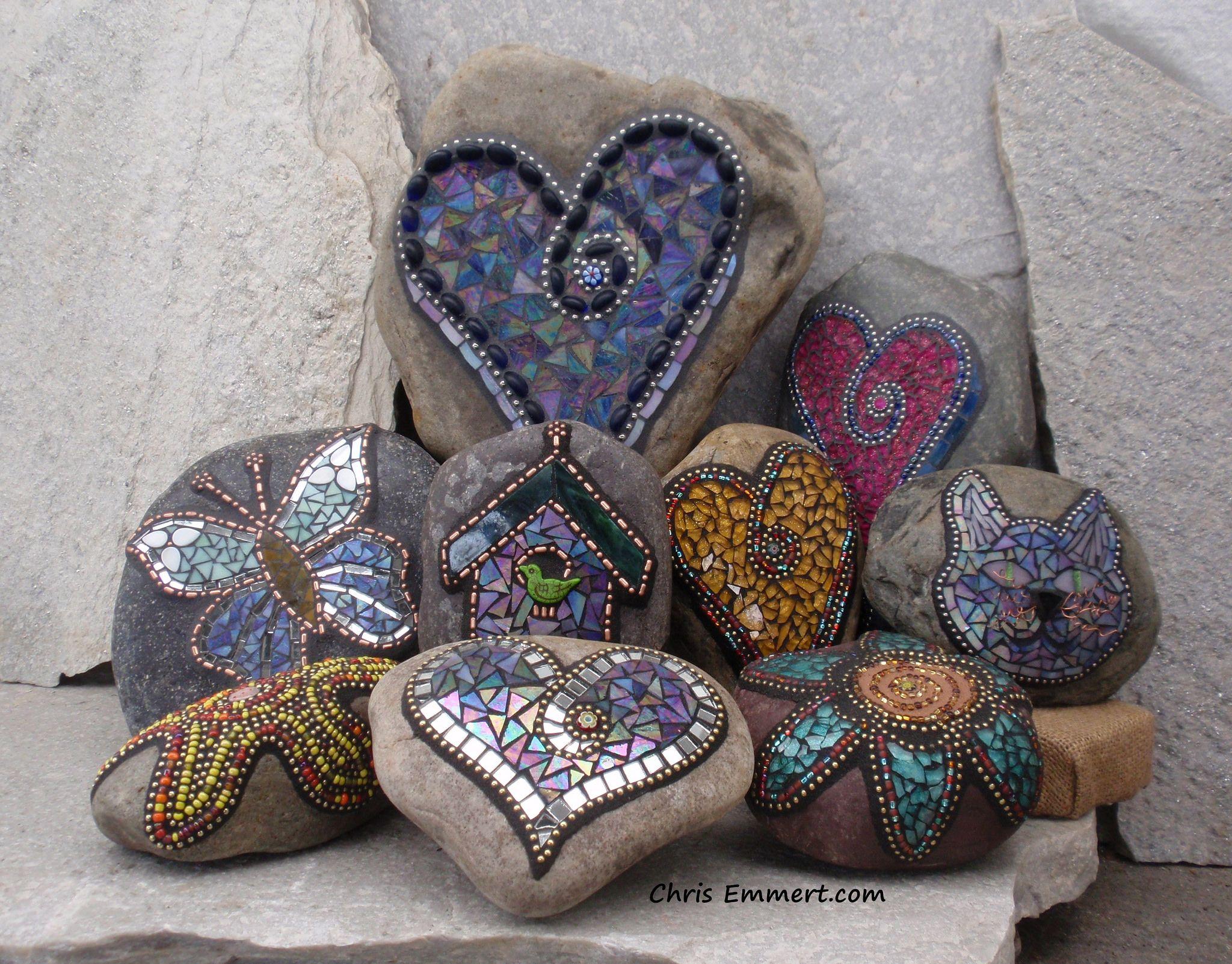 Mosaic Garden Stones | by Chris Emmert