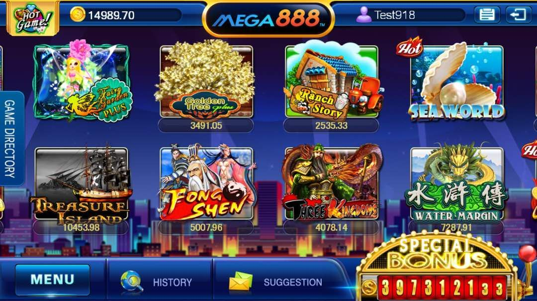 Mega888 [Updated] Download APK IOS Online Register