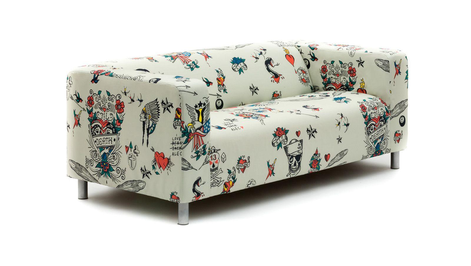Outstanding Tattoo Ikea Klippan Cover Patio Furniture Covers Sofa Machost Co Dining Chair Design Ideas Machostcouk