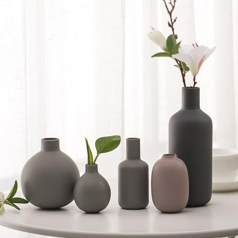 Mini Ceramic Handmade Vases Vase Crafts Vases Decor Ceramic