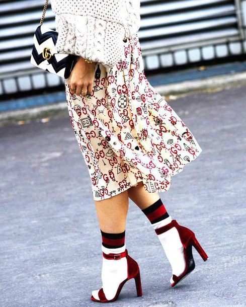 e573a166fd4 Shoes  tumblr sandals sandal heels red sandals velvet velvet velvet sandals  socks and sandals socks