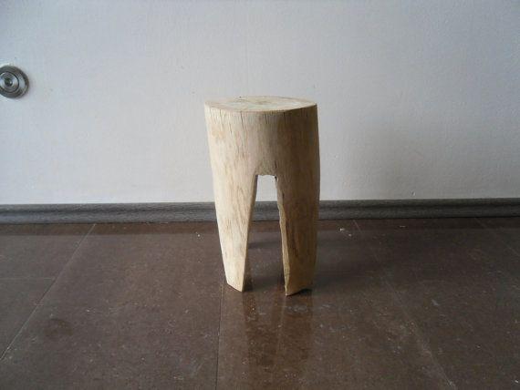 Oak children stool chair table wood tree stump table trunk table child white  Eiche Kind Stuhl Tisch Hocker Schemel Holz ceppo di legno