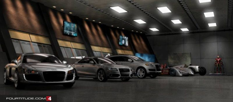 Upscale Underground Garage My Audi Dealer Actually Invited Me To - Audi car garage