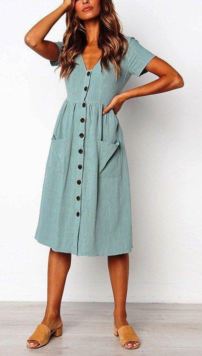 10 vestidos elegantes para la oficina que te van a encantar