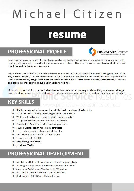 A good resume for a healthcare or Allied Health professional will be