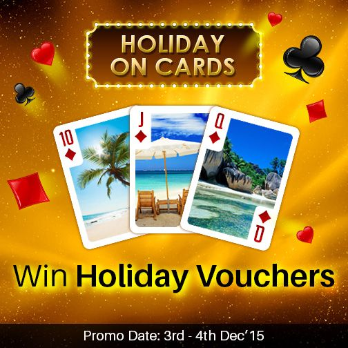 Pack your Bags \ Go for a Holiday this December! Play and win - how to make vouchers