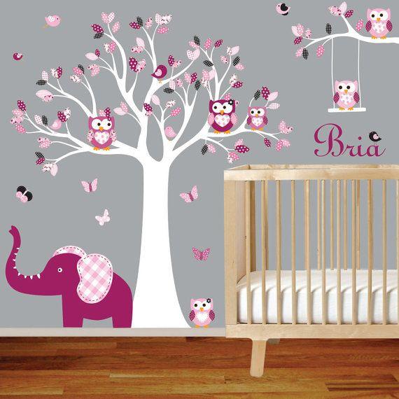 Nursery Wall Decal Tree