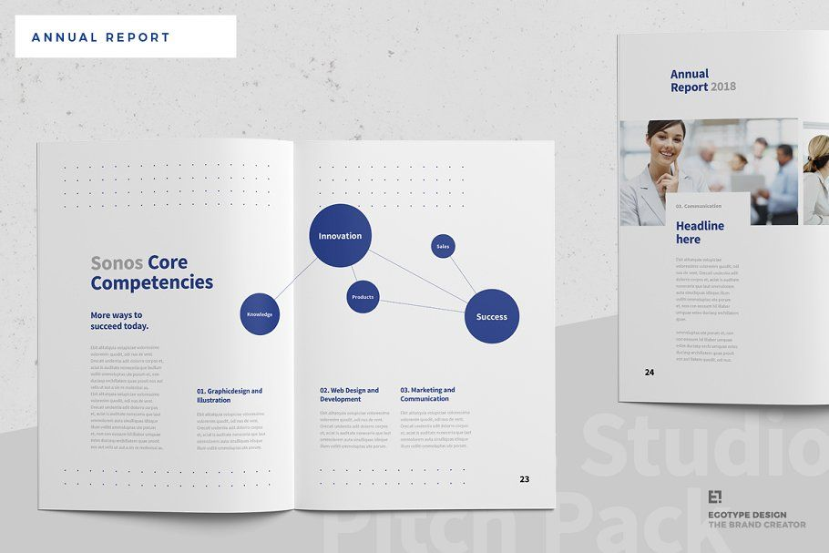Ad Sonos Annual Report By Egotype On Creativemarket Sonos Annual Report And Company Profile T Annual Report Brochure Design Layouts Company Profile Template