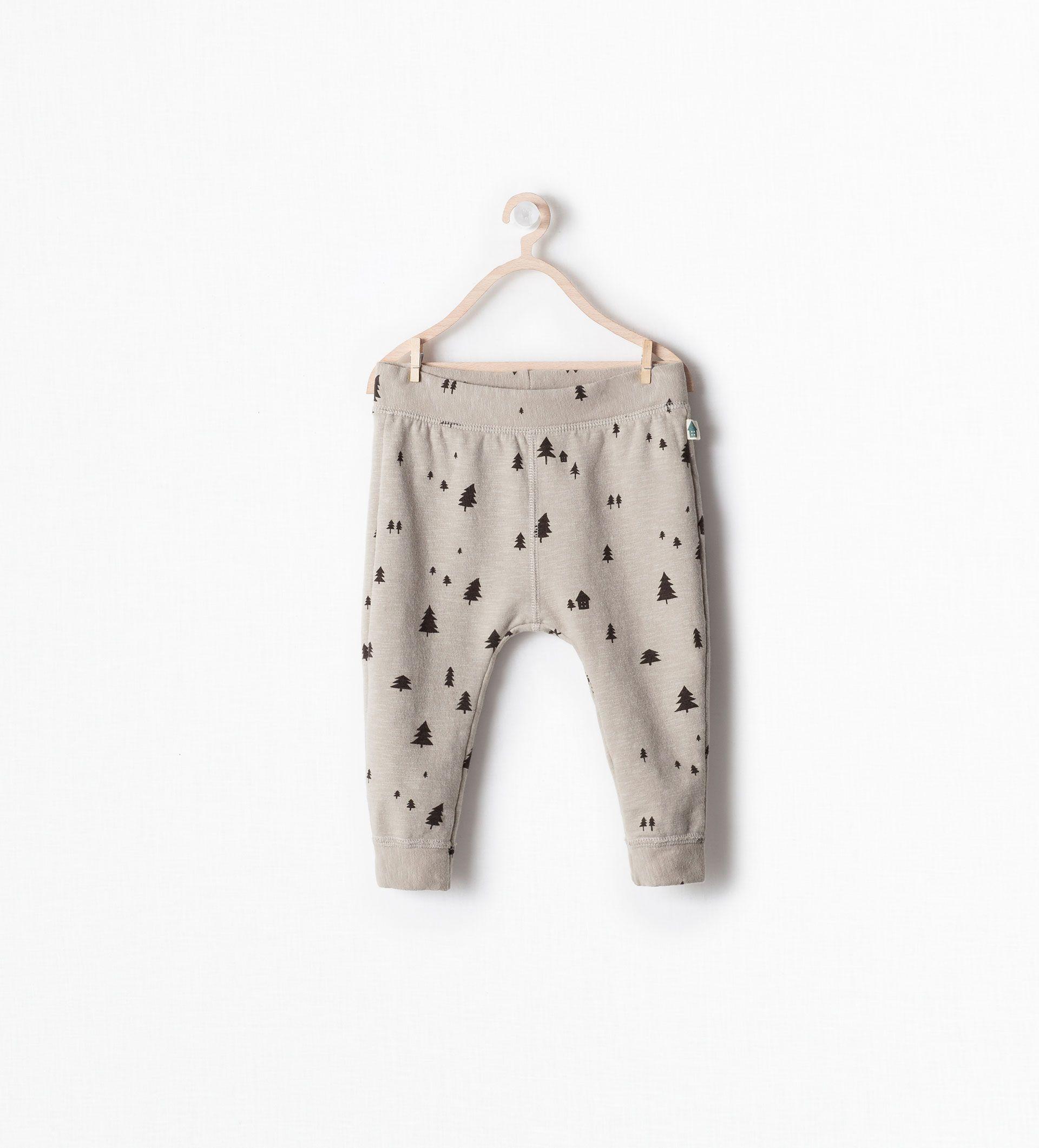 Image 1 of TREE PRINT LEGGINGS from Zara | Toddler ...