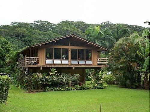 Built on Stilts and Built to Last | Hawaiian, House and Tropical ...